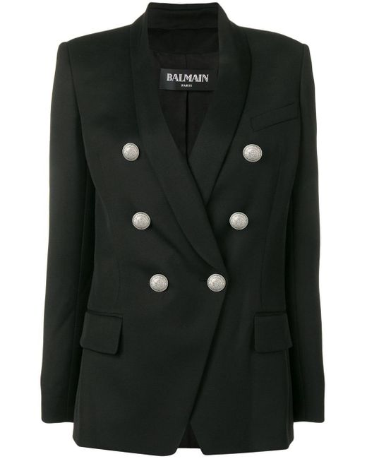 Balmain オーバーサイズ ジャケット Black