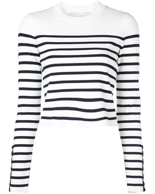 Veronica Beard ストライプ セーター Multicolor