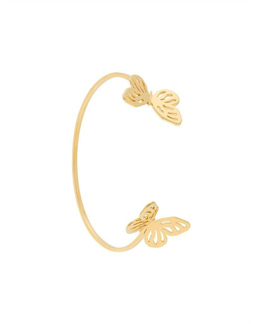 Lara Bohinc - Metallic Butterfly Bracelet - Lyst