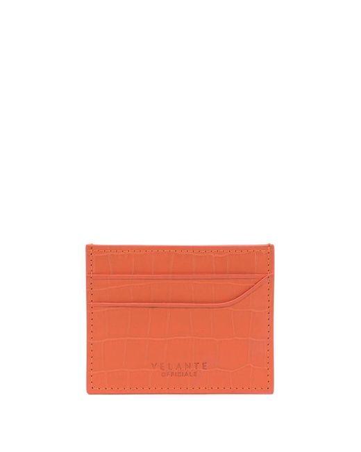 Manokhi カードケース Orange