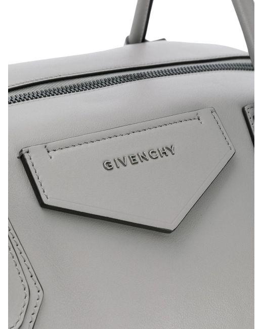 Большая Сумка-тоут Antigona Givenchy, цвет: Gray