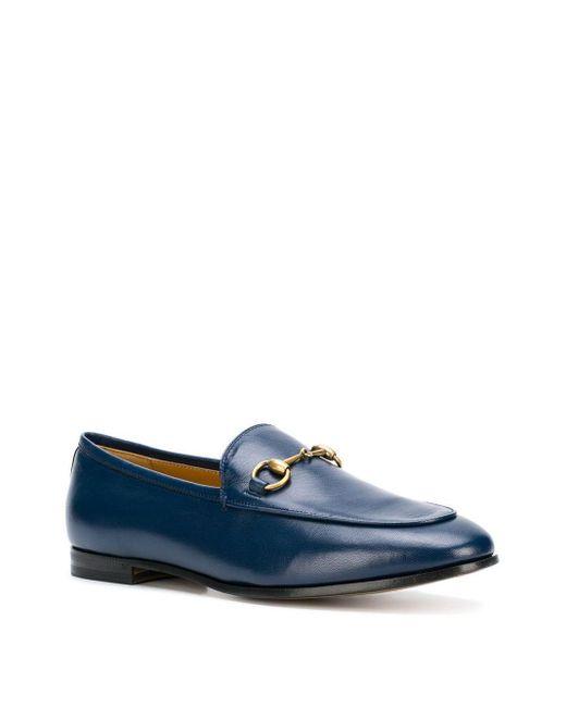Лоферы 'jordaan' Gucci, цвет: Blue