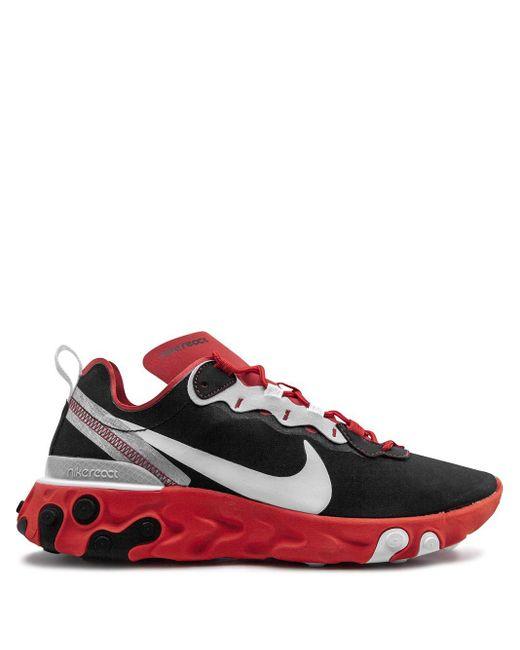 メンズ Nike React Element 55 スニーカー Red