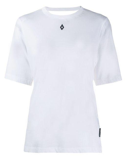 Marcelo Burlon オープンバック Tシャツ White
