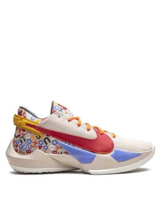 Nike Multicolor Zoom Freak 2 Sneakers for men
