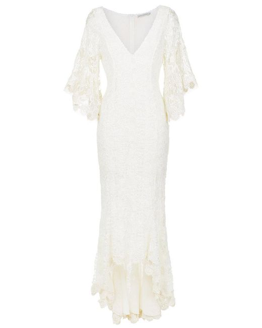 Martha Medeiros - White Lace Gown - Lyst