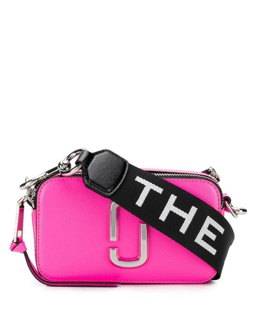 Marc Jacobs レザーショルダーバッグ Pink