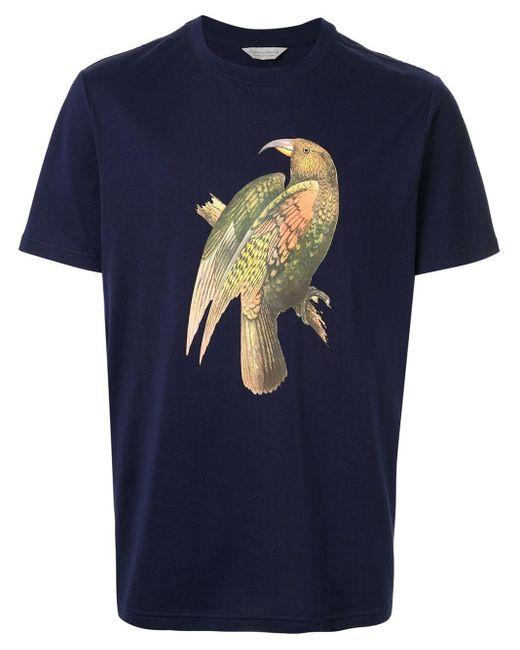 メンズ Gieves & Hawkes プリント Tシャツ Blue