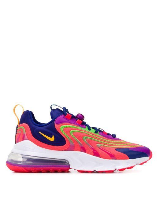 """メンズ Nike Air Max 270 React """"laser Crimson"""" スニーカー Multicolor"""