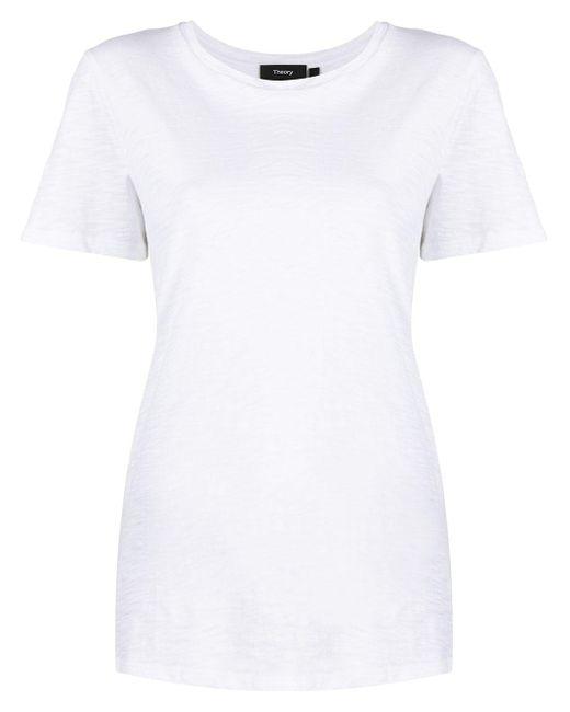 Theory オーガニックコットン Tシャツ White
