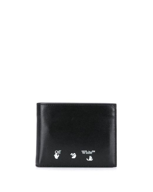 メンズ Off-White c/o Virgil Abloh 二つ折り財布 Black