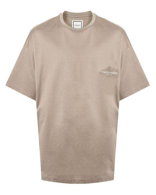メンズ Wooyoungmi グラフィック Tシャツ Brown