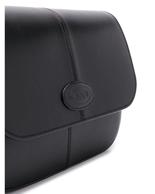 Tod's ロゴ ショルダーバッグ Black