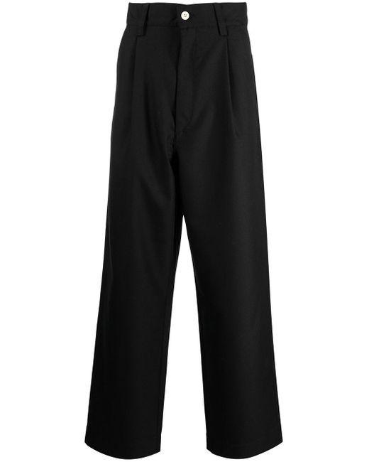 メンズ Sunnei ワイド テーラードパンツ Black