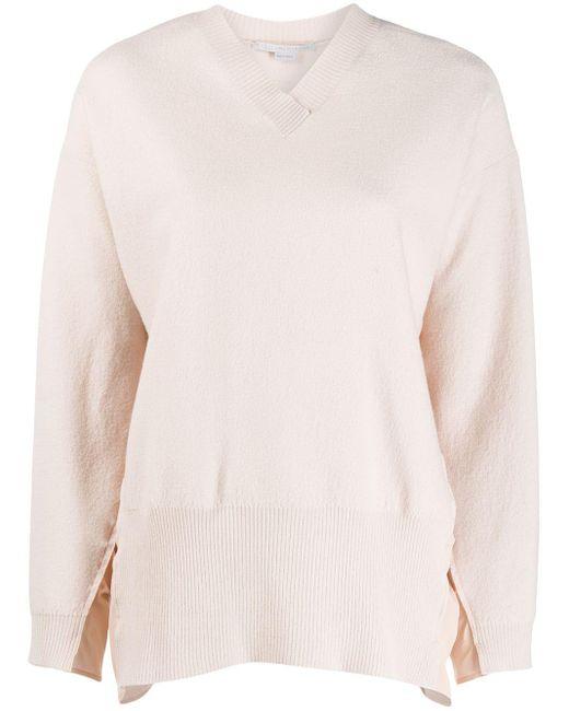 Stella McCartney シャーリング セーター Pink