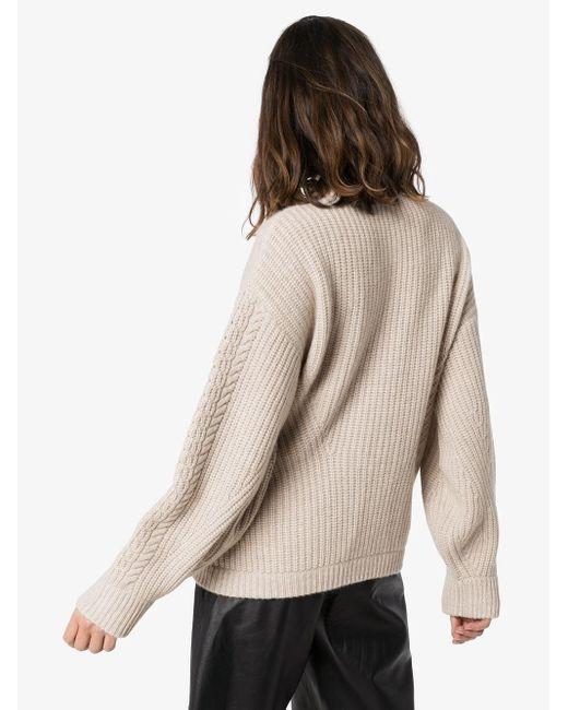 Le Kasha カシミア セーター Natural