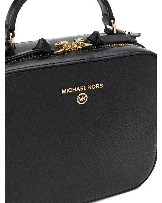 MICHAEL Michael Kors Jet Set ハンドバッグ M Black
