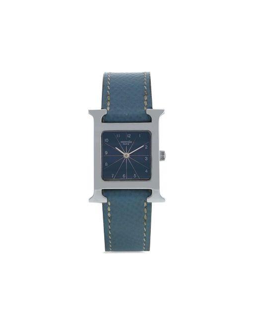 Hermès 2000s プレオウンド Hウォッチ 21mm Blue