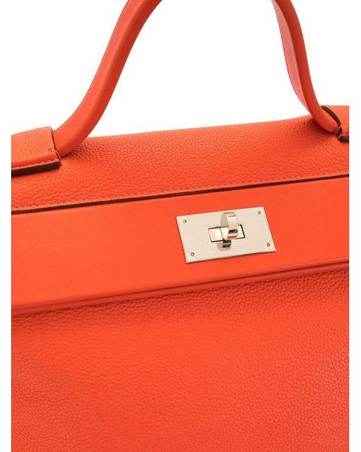 Hermès 2018 サック ヴァンキャトル ハンドバッグ Orange