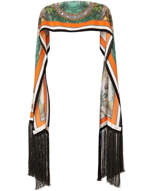 Burberry プリント スカーフ Multicolor