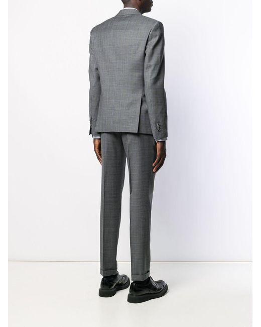 Костюм-двойка С Однобортным Пиджаком DSquared² для него, цвет: Gray