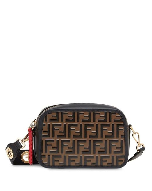 Fendi Black Camera Case Crossbody Bag