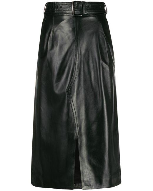 Юбка Миди С Завышенной Талией Marni, цвет: Black