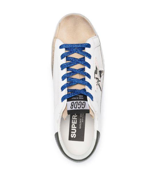 Кеды Superstar Golden Goose Deluxe Brand, цвет: White