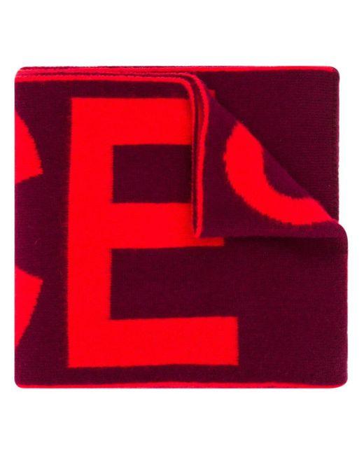 Paul Smith コントラスト スカーフ Red