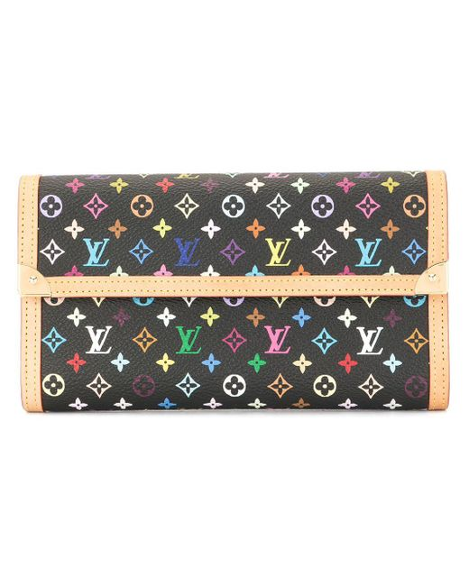 Louis Vuitton Porte Tresor International 財布 Multicolor