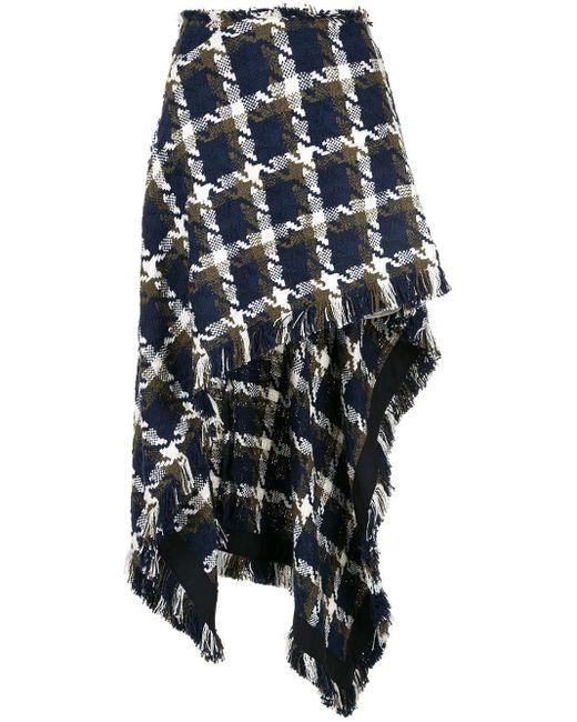 Monse チェック スカート Multicolor