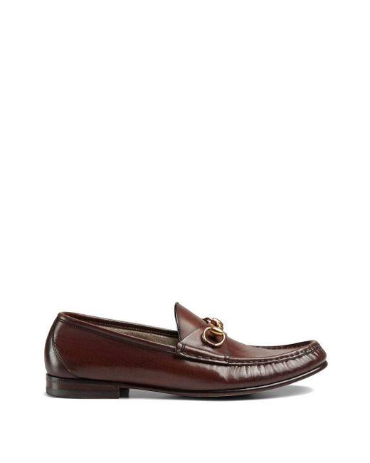 Лоферы 'horsebit 1953' Gucci для него, цвет: Brown