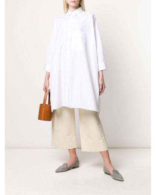 Jil Sander オーバーサイズシャツ White