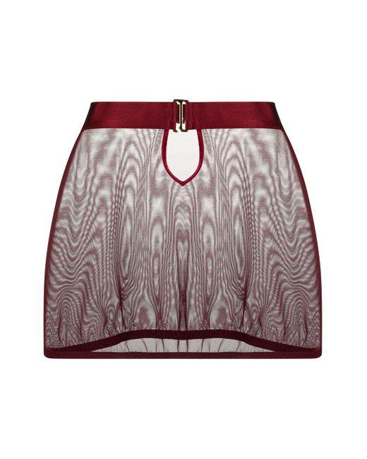 Bordelle Merida メッシュスカート Red