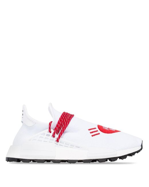 メンズ Adidas Originals Adidas X Pharrell Williams Nmd Love Human Made スニーカー Red