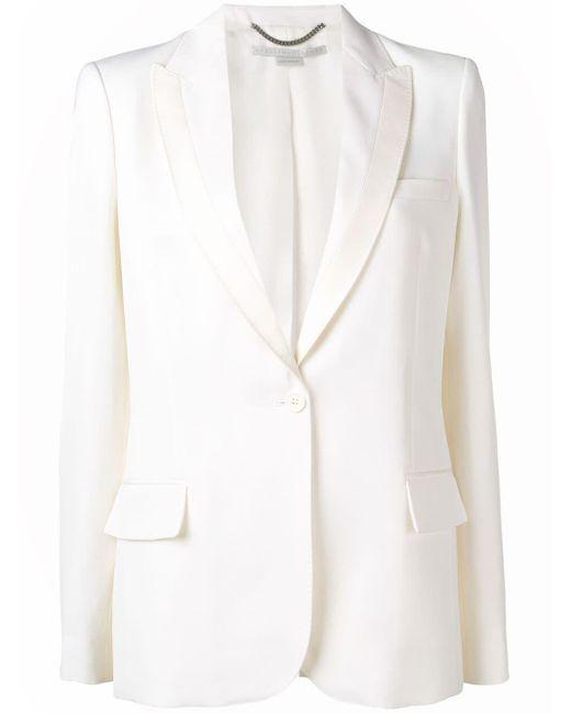 Stella McCartney テーラードジャケット White