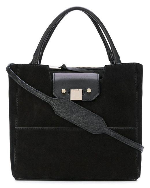 Jimmy Choo   Black Robin Tote Bag   Lyst