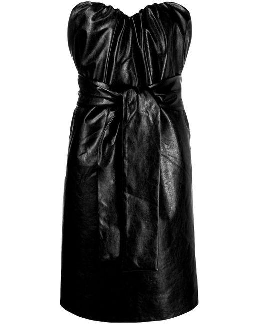 MSGM ギャザードレス Black