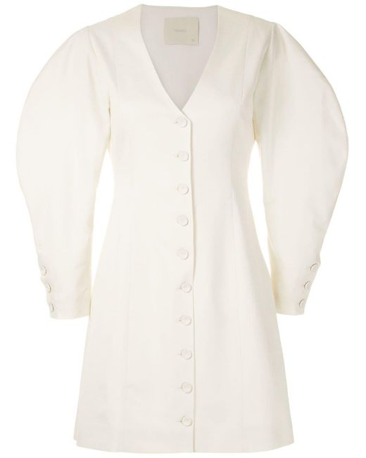 Framed Greta ドレス White