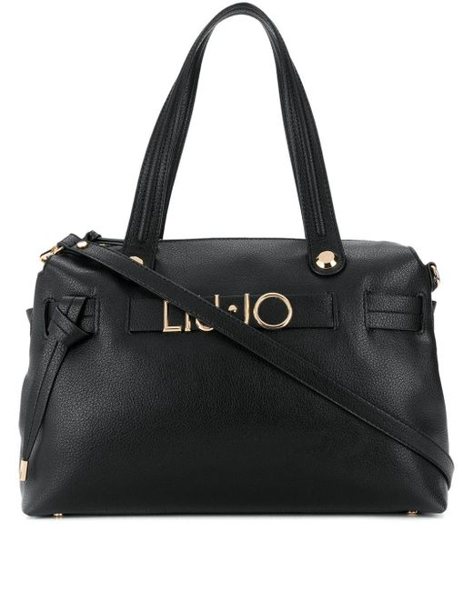 Liu Jo ロゴ ハンドバッグ Black