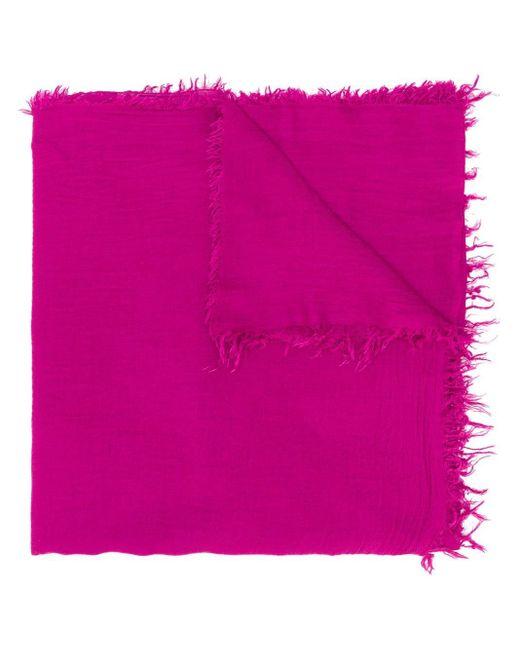 Fabiana Filippi ローエッジ スカーフ Pink