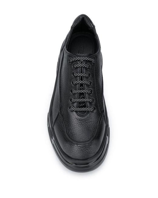 メンズ Giorgio Armani チャンキーソール スニーカー Black
