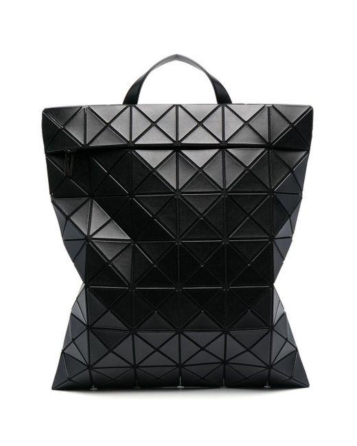 Bao Bao Issey Miyake Black Lucent Geometric-panelled Backpack