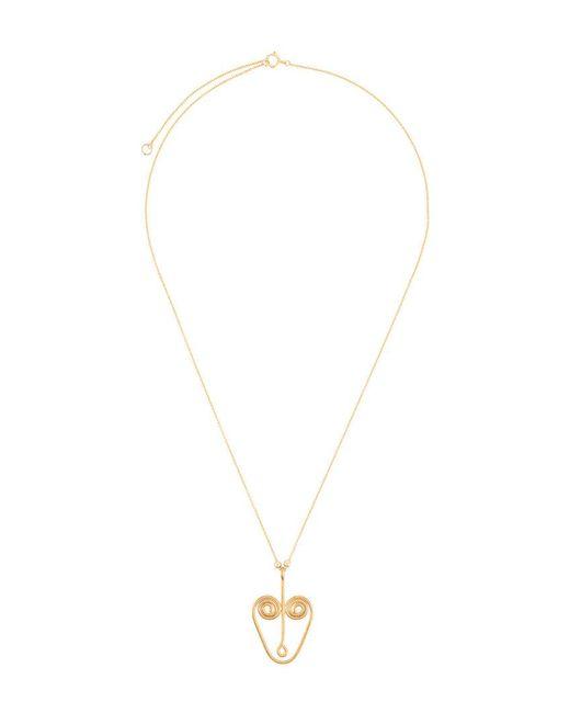 PetiteGrand Luna necklace - Metallic MkAAm0A58