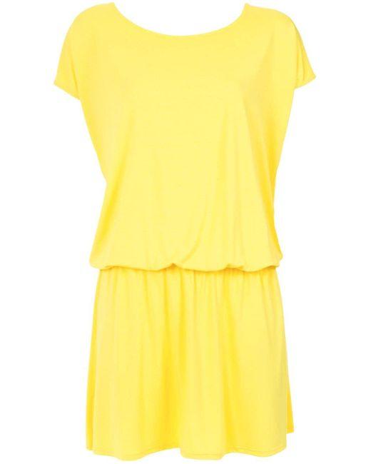Lygia & Nanny Albatroz ドレス Yellow