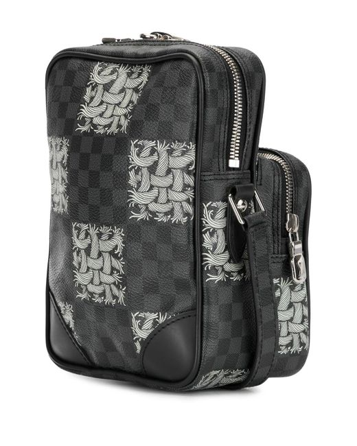 Сумка X Christopher Nemeth Damier Graphite Amazon 2015-го Года Pre-owned Louis Vuitton, цвет: Black