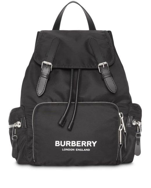Burberry バックパック M Black