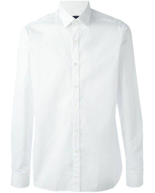 メンズ Lanvin クラシック シャツ White