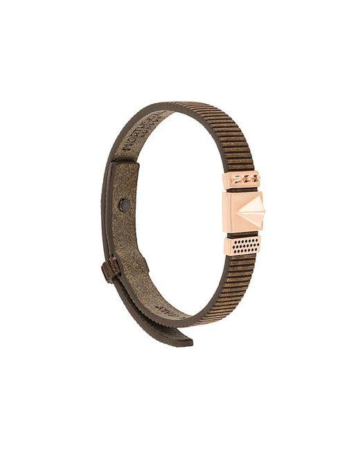 Northskull - Brown 'rupe' Bracelet - Lyst