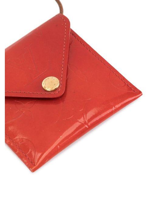 Мини-кошелек Для Монет 1999-го Года Pre-owned Louis Vuitton, цвет: Red